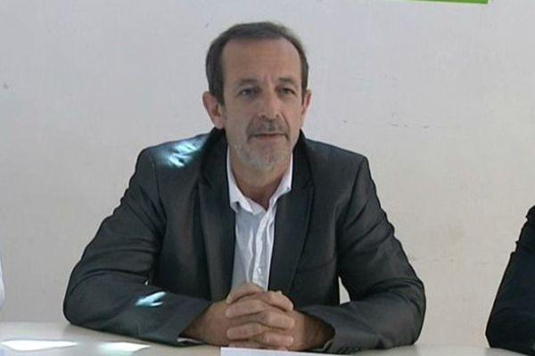 Jean-Charles Kohlhaas est venu annoncer sa candidature à la permanence clermontoise d'EELV.
