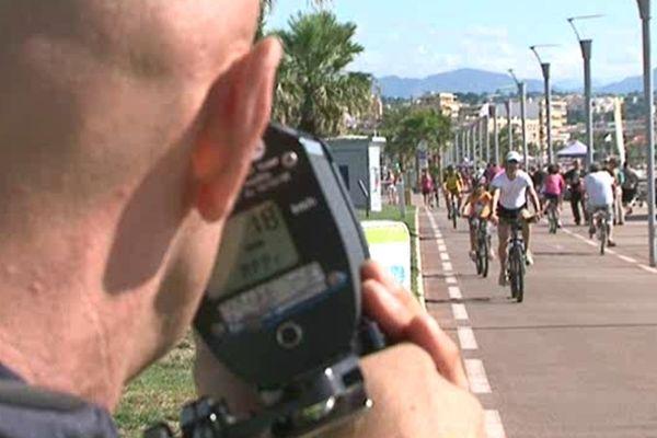 Dix kilomètres/heure: sinon une amende de 35 euros.