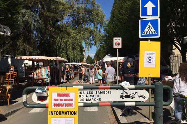 Masque obligatoire sur les marchés ouverts à Annecy depuis ce samedi 25 juillet