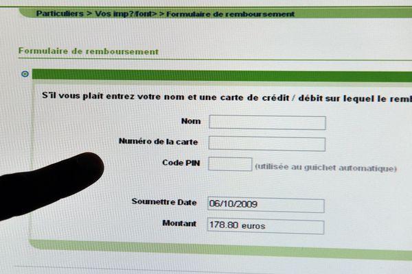 Les escrocs demandent par téléphone ou par mail de rentrer des données personnelles, voire des codes de carte bancaire