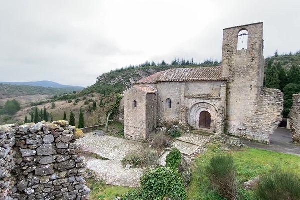 Il faut 500 000 euros pour restaurer l'Eglise romane Sainte-Léocadie à Fontjoncouse (Aude).