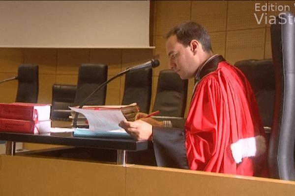 14/10/13 - Assises de Haute-Corse, l'avocat général Nicolas Hennebelle