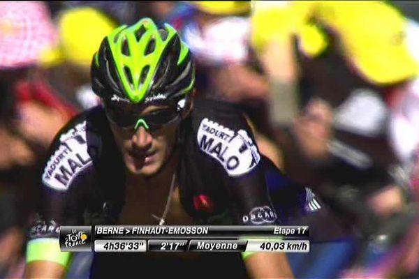 Tour de France : Brice Feillu termine 5e de la 17e étape