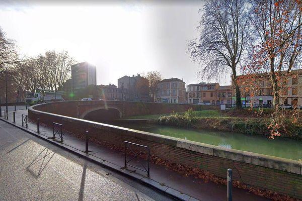 Toulouse - le canal de Brienne - archives.