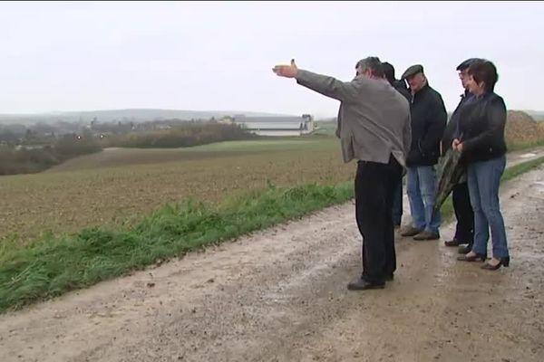 Les habitants de Moislains s'inquiètent pour l'avenir de leur commune menacé selon eux par le tracé du Canal Seine Nord Europe