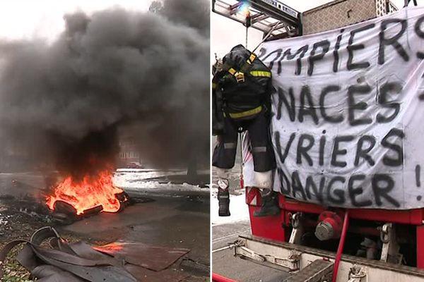 Les pompiers du site ont voté une grève illimitée.