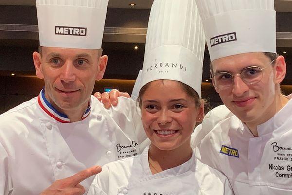 La team de Davy Tissot sélectionnée pour représenter la France aux Bocuse d'or Europe en 2020