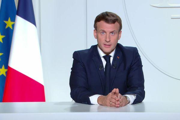 Emmanuel Macron a annoncé un nouveau confinement