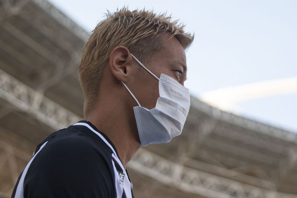 Le joueur japonais Keisuke Honda, le 15 mars 2020