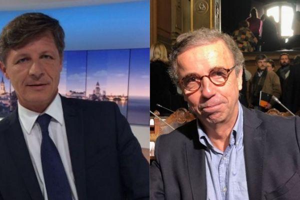 Le match se dessine entre Nicolas Florian et Pierre Hurmic si l'on en croit le sondage de ce jeudi 19 décembre réalisé par Ipsos-Sopra-Steria pour France Bleu Gironde, Sud Ouest et TV7.