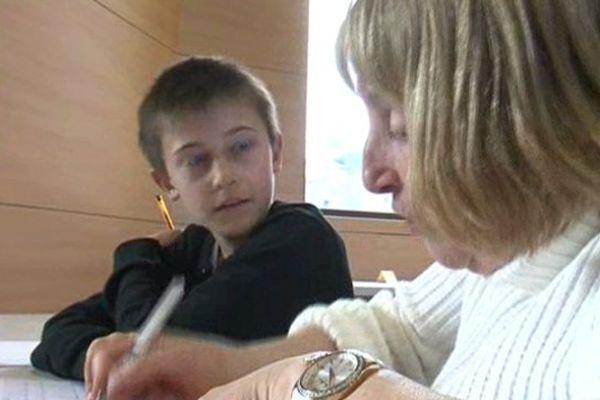 Un échange fructueux entre les séniors et les enfants.