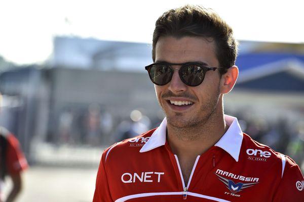 Jules Bianchi, le 6 septembre 2014 à Monza.