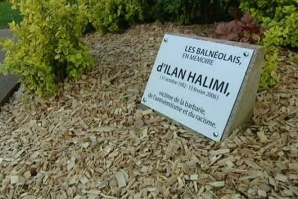 Une nouvelle stèle en mémoire d'Ilan Halimi dévoilée à Bagneux