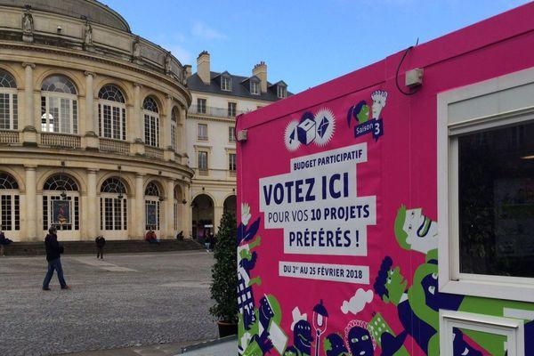 Dans le cadre du 3ème budget participatif, les Rennais sont invités à choisir 10 projets. Les gagnants seront financés.