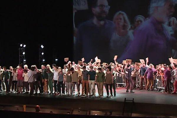 300 personnes vont se réunir sur la scène du Corum à Montpellier pour un spectacle unique mélangeant des pros et des amateurs