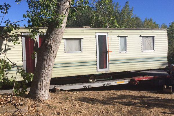 Les services de l'Etat ont fait procédé à l'enlèvement d'une résidence mobile implantée illégalement