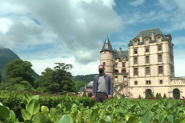 L'historien Guillaume Mazeau, spécialiste de la Révolution française, est en résidence au domaine de Vizille