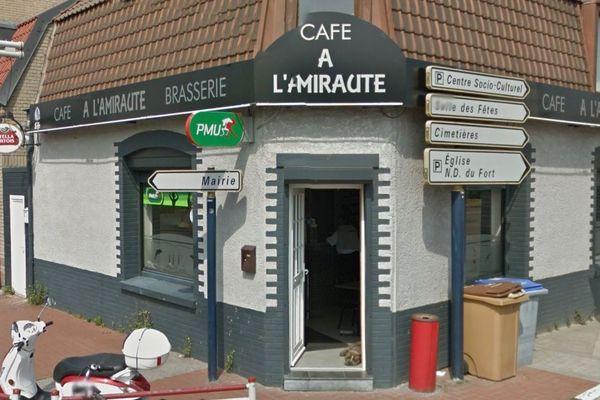 La Café A L'Amirauté à Fort Mardyck.