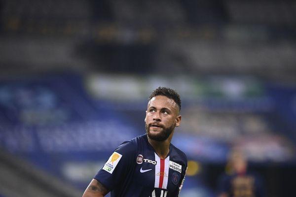 Le joueur du PSG Neymar ne fait pas partie du groupe parisien qui doit s'opposer au FCSM, ce mercredi 5 août.
