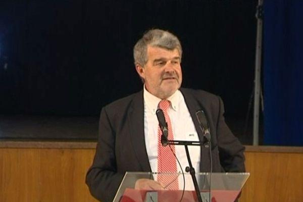 Jean-Francois Fountaine a officiellement annoncé sa candidature devant plus de 300 militants et sympathisants à La Pallice.