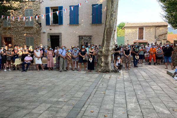 De nombreuses personnes étaient présentes ce mercredi 21 juillet au Plan de la Tour.