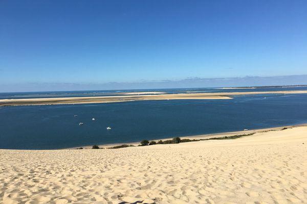 Une des plus belle vue du monde depuis la dune du Pilat...