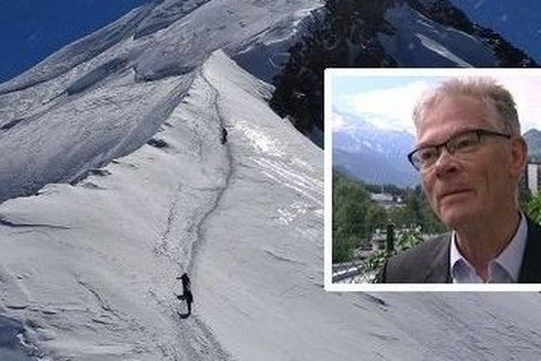 Jean-Marc Peillex utilise largement les réseaux sociaux pour dénoncer la surfréquentation du Mont-Blanc