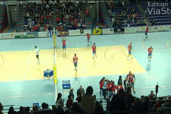 12/04/14 - 1/4 de finale aller des play-offs: Ajaccio s'impose à Beauvais