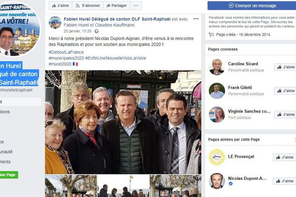 Fabien Hurel candidat Debout la France à Saint-Raphaël