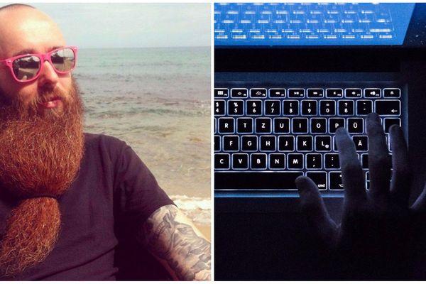 """Gal Vallerius est soupçonné d'être à la tête d'un trafic de drogues sur le """"dark web"""". Interpellé aux Etats-Unis, il se rendait au Texas pour un championnat international de barbes et moustaches."""
