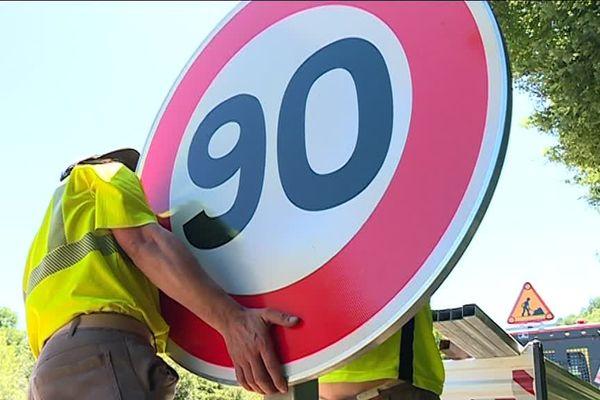 Les 90 km/h seront-ils rétablis sur certains tronçons ?