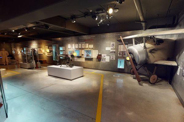 Une capture d'écran du musée de Suippes. On s'y croirait.