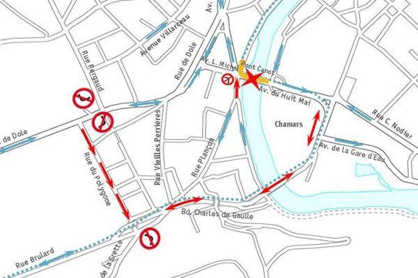 Une vaste boucle devrait permettre aux automobilistes d'éviter le Pont Canot