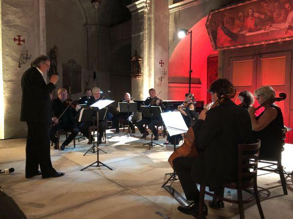 L'Orchestre royal de Wallonie sur la scène de l'église Saint-Blaise