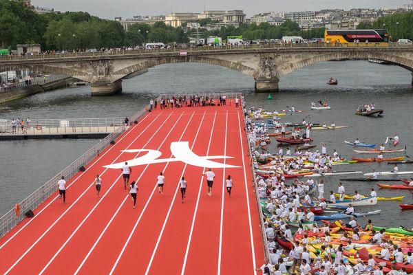 Les Journées olympiques, à Paris, les 23 et 24 juin 2017.