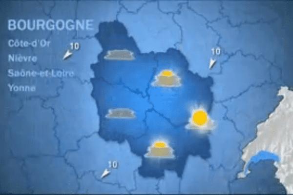 Les prévisions de Météo France lundi 19 octobre matin