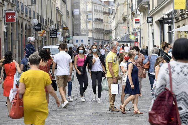 Le port du masque est mantenant obligatoire partout en Ille-et-Vilaine et le département est sous couvre-feu à partir du 24 octobre