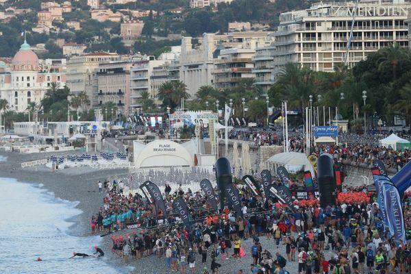 En 2019, le championnat du monde Ironman de Nice avait réuni des milliers de participants