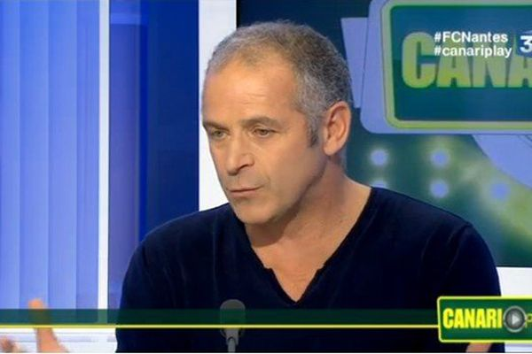 Vincent Bracigliano sur le plateau de Canariplay