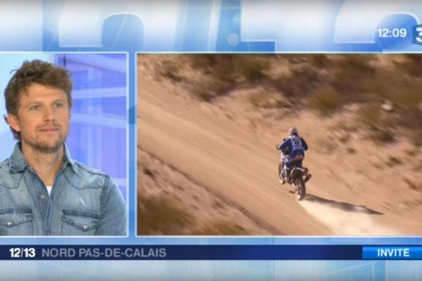 Adrien Van Beveren était notre invité à quelques jours de son départ pour le Dakar.
