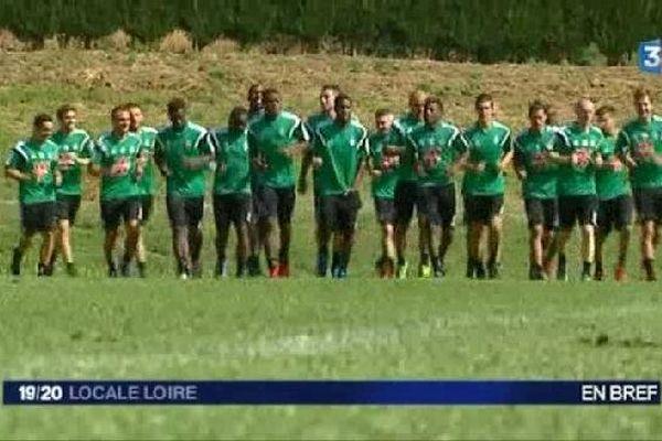 Les Verts ont repris le chemin de l'entraînement ce lundi 30 juin...
