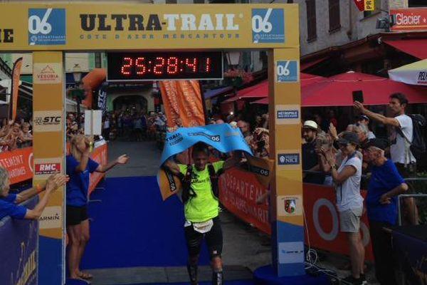 Lauréat 2017 : Gilles Frediani après plus de 25 h d'effort !