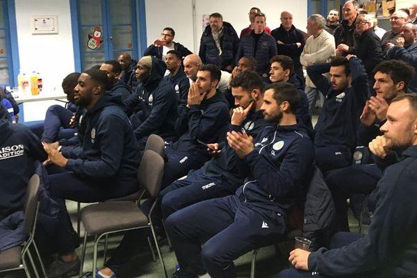 Les joueurs et le dirigeants de L'ACFC se disent plutôt satisfaits du tirage au sort.