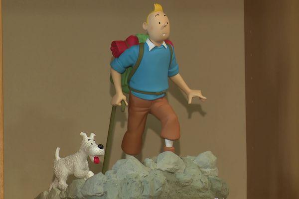 Les figures de Tintin produites en série limitée, sont aussi dans le viseur des collectionneurs.