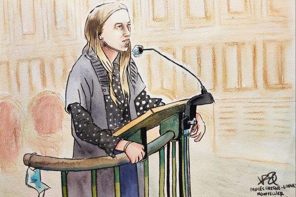 Alabama, fille de la victime de l'assassinat de la grotte sanglante de Sète Patrick Isoird