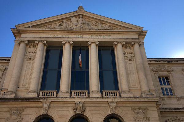 Le palais de Justice de Nice (illustration).