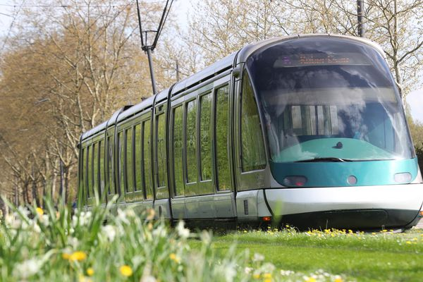 Le tramway à Strasbourg