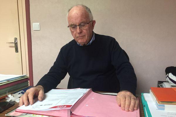 A 71 ans, Louis Simoneau, maire de Ruffigné depuis 12 ans ne se représente pas