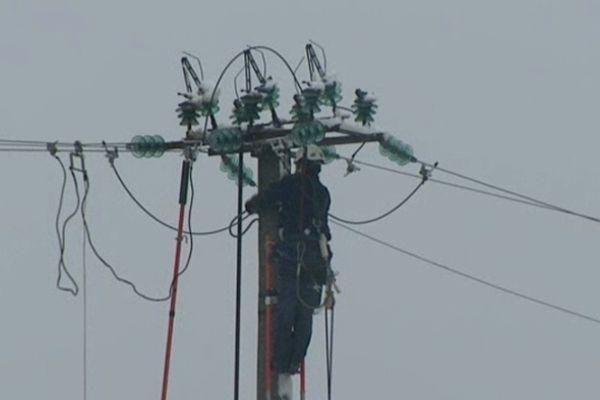 Le réseau électrique a particulièrement souffert