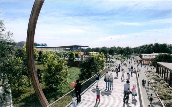 Vue virtuelle du parc Imagiland - La Couronne (Charente)